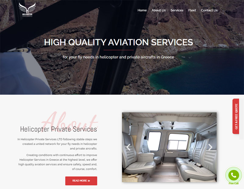 Helicopter Private Servives Flights Sightseeings